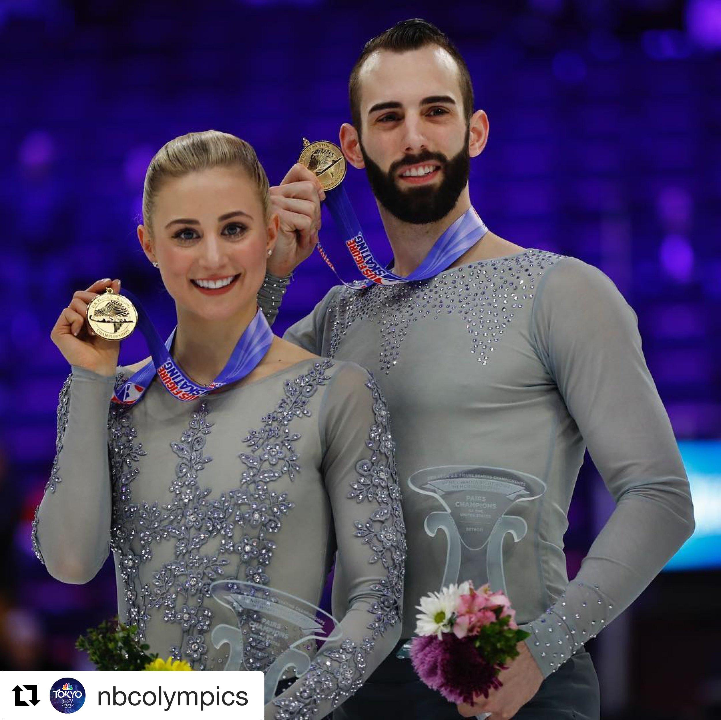 Ashley Cain & Timothy Leduc 2019 Senior Pairs National Champions