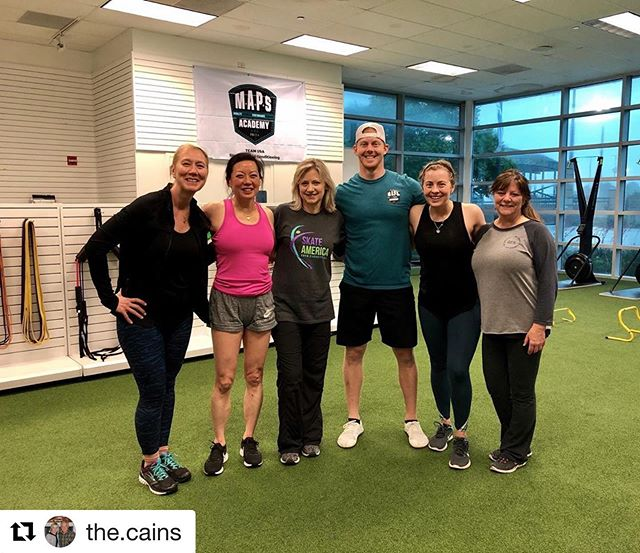 #Repost @the.cains with @get_repost ・・・ Thanks @mapsacademy  and @cballard6 for pushing us today! Join us for the adult workout every Saturday at 12:15pm.  #adultclass #workout #letdothis #eulesstx #teamcain
