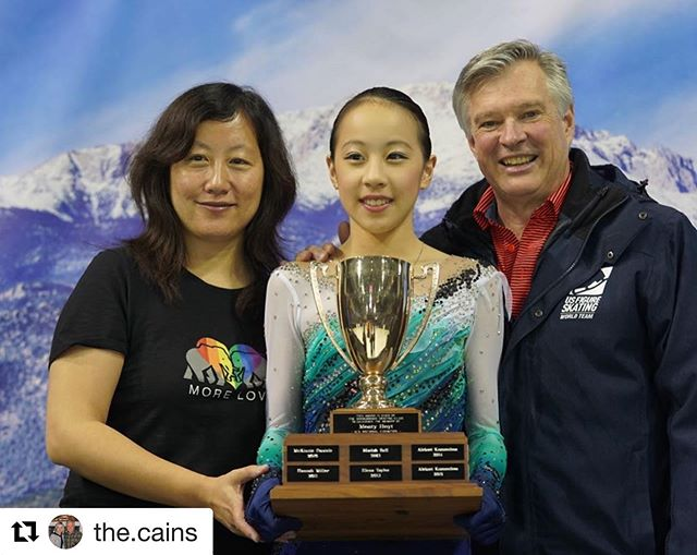 Way to go @jessicalinjy!! 🥇  #Repost @the.cains with @get_repost ・・・ 🥇So proud of @jessicalinjy on winning Jr Ladies and making the isp score! #waytogo #proudcoaches #hardworkpaysoff #usfigureskating #teamcain #teamusa