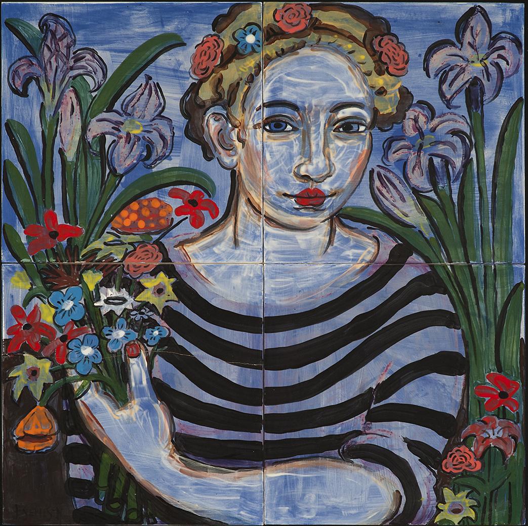 """""""Flora"""" (Study after Francesco Melzi)"""