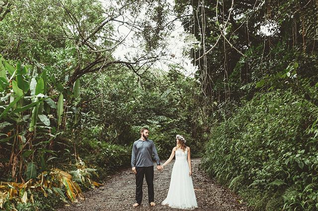 Somewhere far far away and still with you #roadtohana #maui #mauihawaii #mauiwedding #mauiphotographer #mauiphotography #trashthedress #hawaiisbestphotos