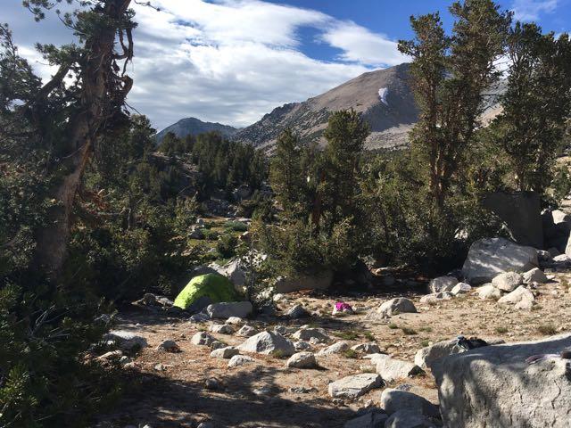 Campsite: Day 2
