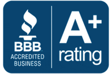 BBB A+ Accredited Business Logo