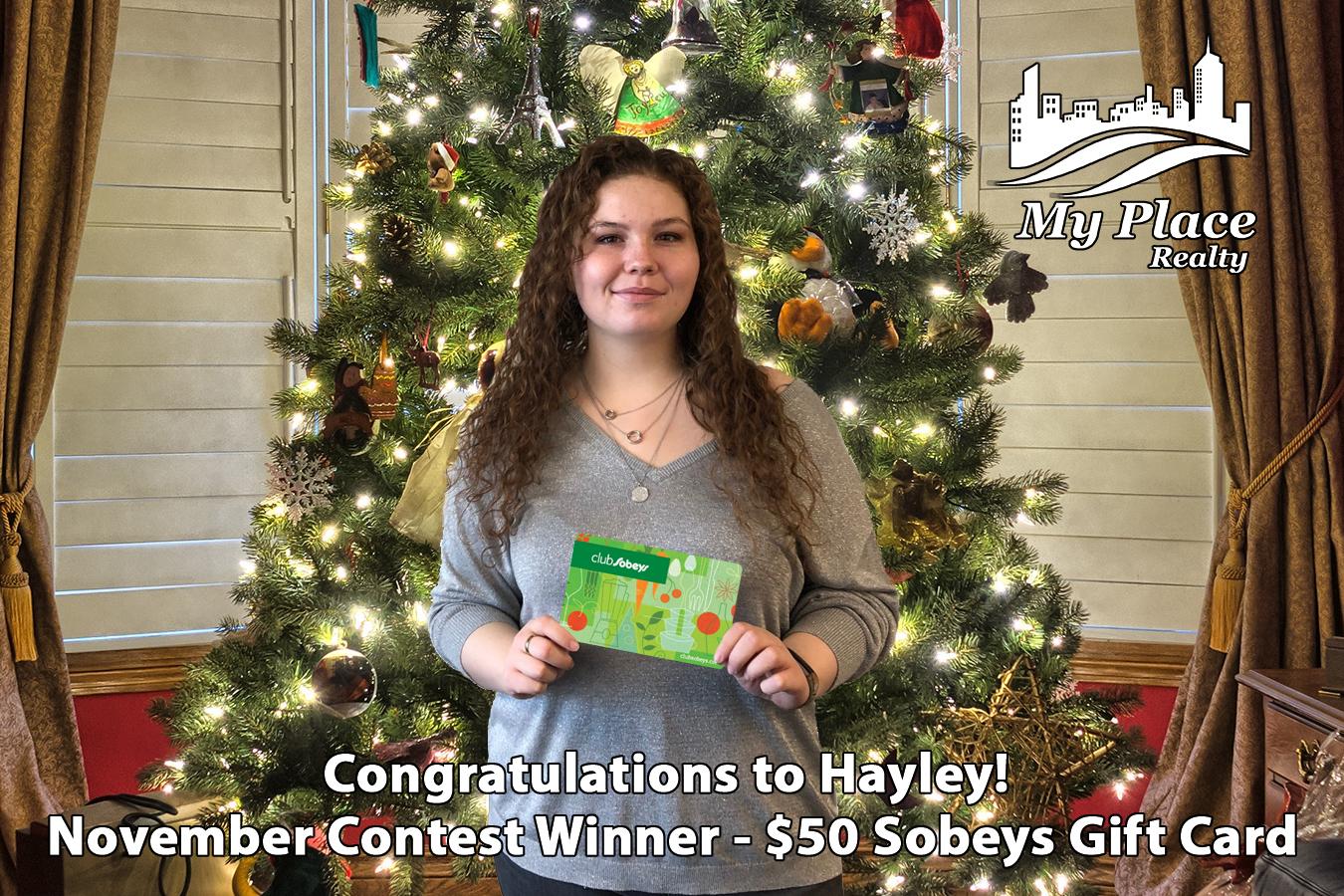Google Prize Winner - Sobeys Gift Card - Nov 30-2018.jpg