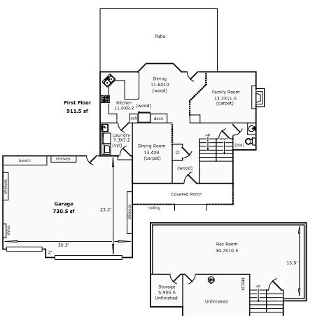 3005 Indigo Cir Floor Plan