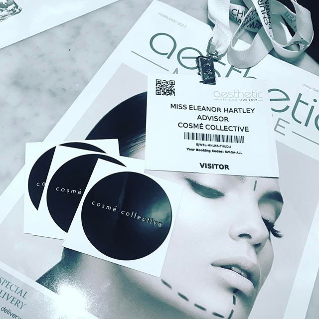 Fantastic day at Aesthetic Medicine Live 2017 exhibition. Cosmé Collective stay at the forefront of medical knowledge and technology ensuring clients have access to the newest and most beneficial treatments on the market. #cosmecollective #cosmeticsurgery #plasticsurgery #aesthetic #aestheticbeauty #aestheticmedicine #aestheticmedlive #aestheticmedicinelive #aestheticexhibition