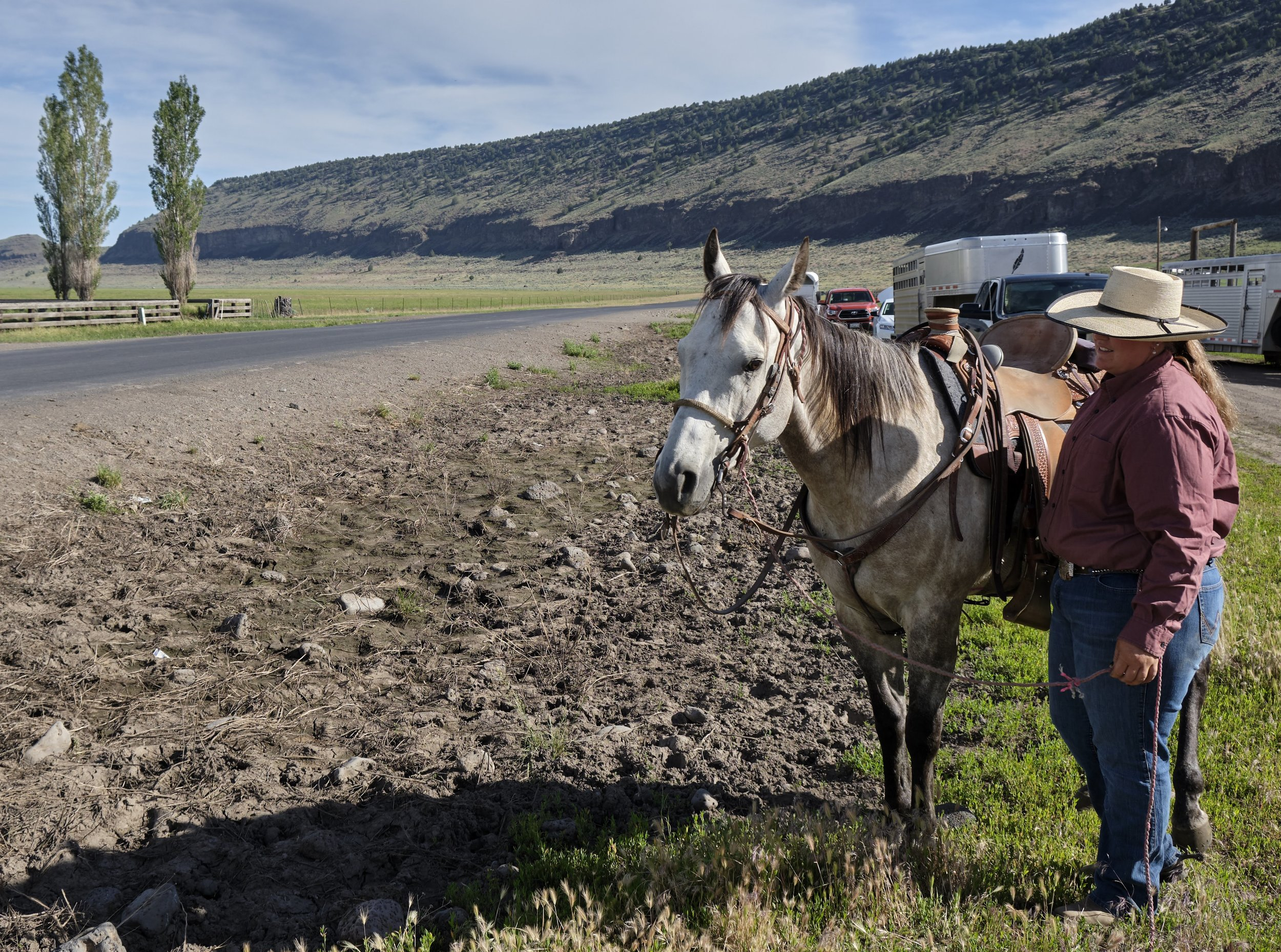 "Lacey Elder of the Elder Ranch in Malheur County said after participating in the low-stress stockmanship training, ""I can see how to set a strategy in your mind and then signal to the cattle in a way they understand to get a task done. It's the difference between effectiveness and efficiency; getting the cattle working with you first and then go do the job."""