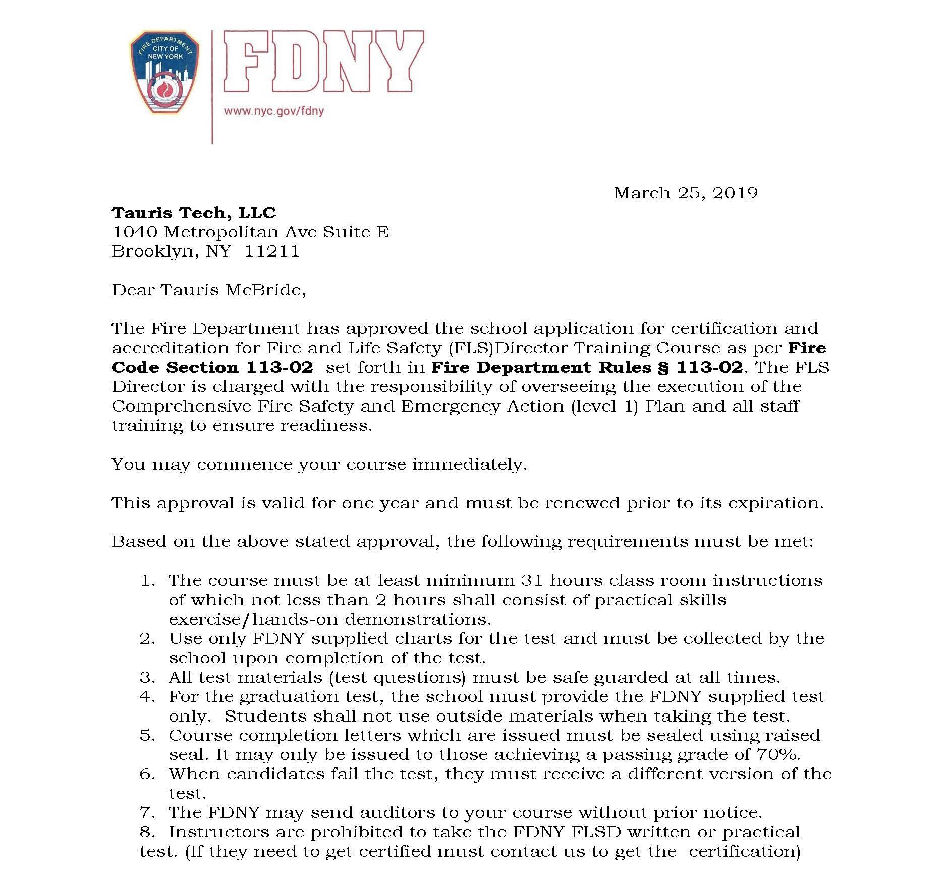 Tauris Tech LLC Letter of Acceptance for FLSD course 3-25-19_Page_1.jpg