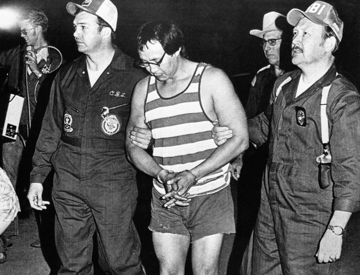 Hart being taken into custody. Via  NY Daily News
