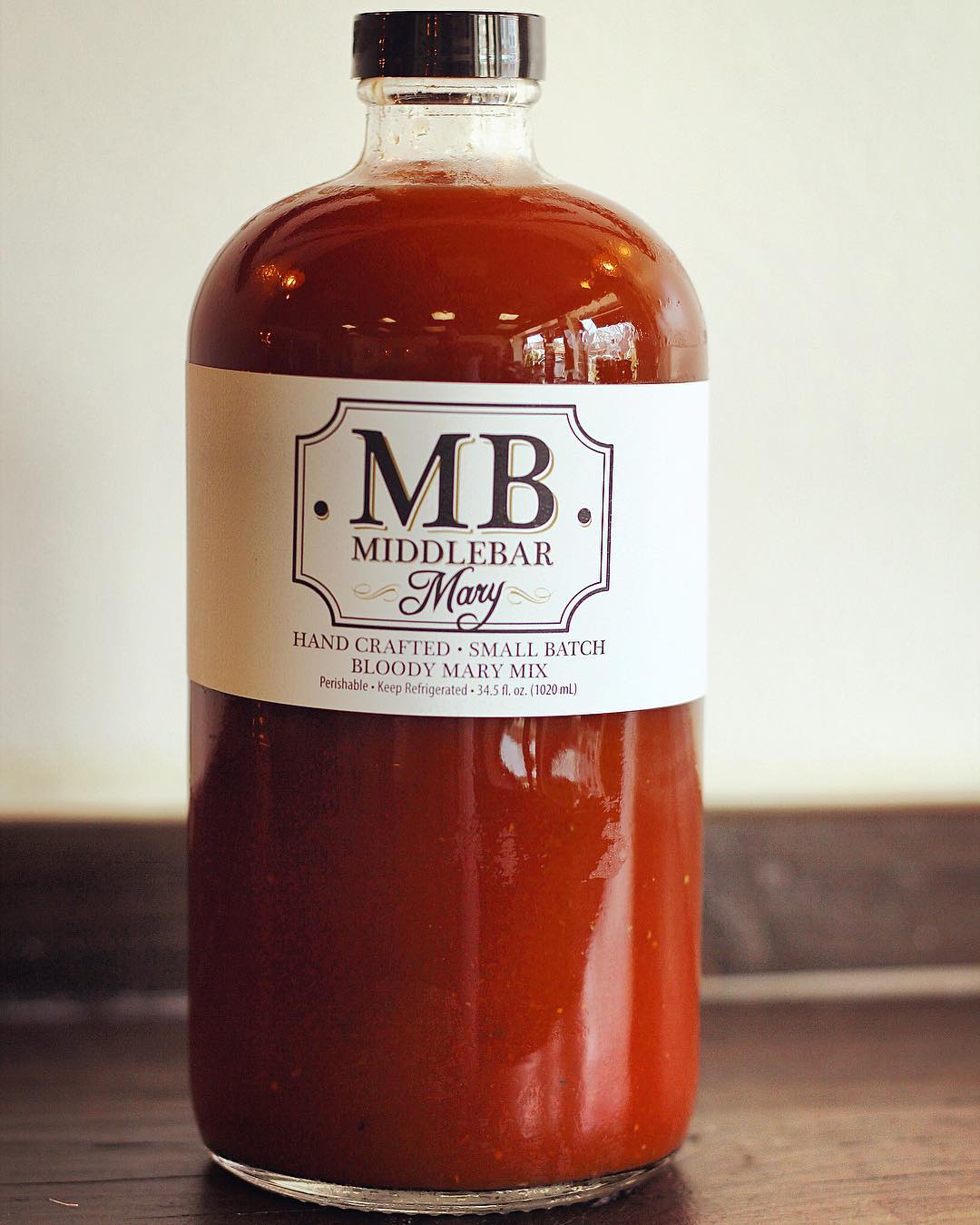 The secret ingredient: Middlebar's Bloody Mary mix