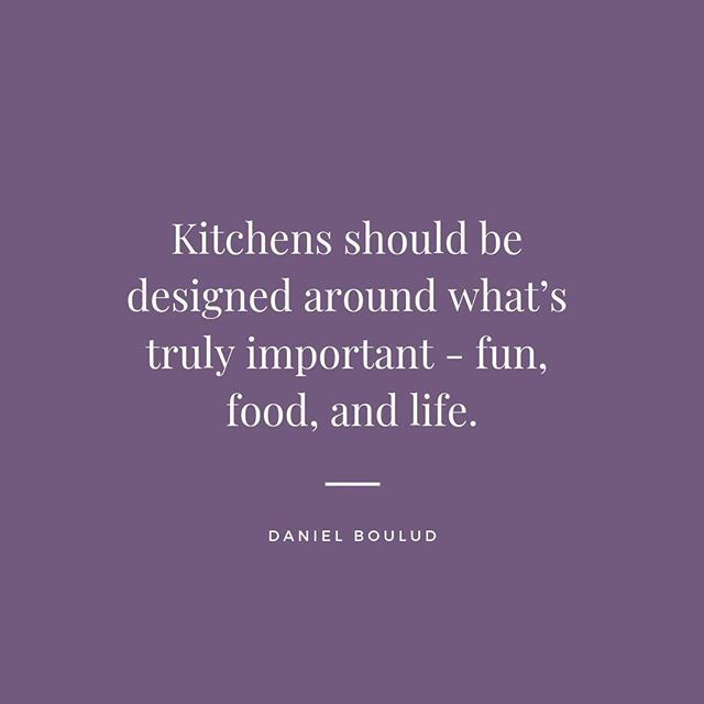 Agreed! 🙌🏻 #wordsofwisdom #kitchensbynancy