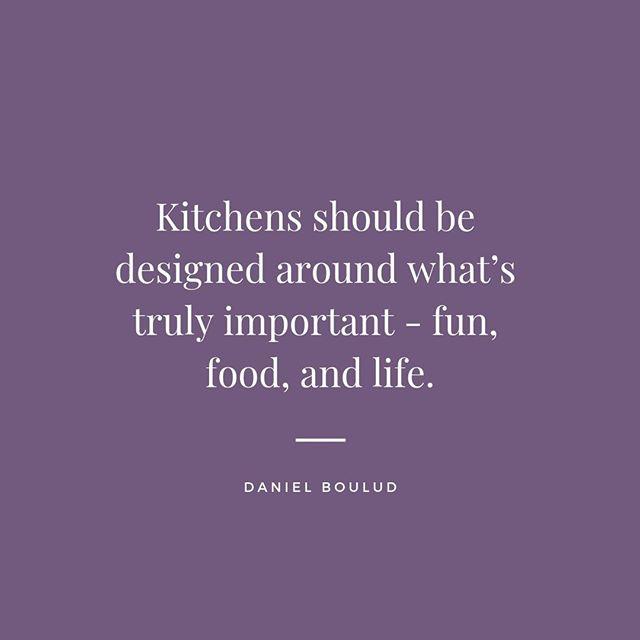 Agreed! 🙌🏻 #wordsofwisdom #kitchensbynancy
