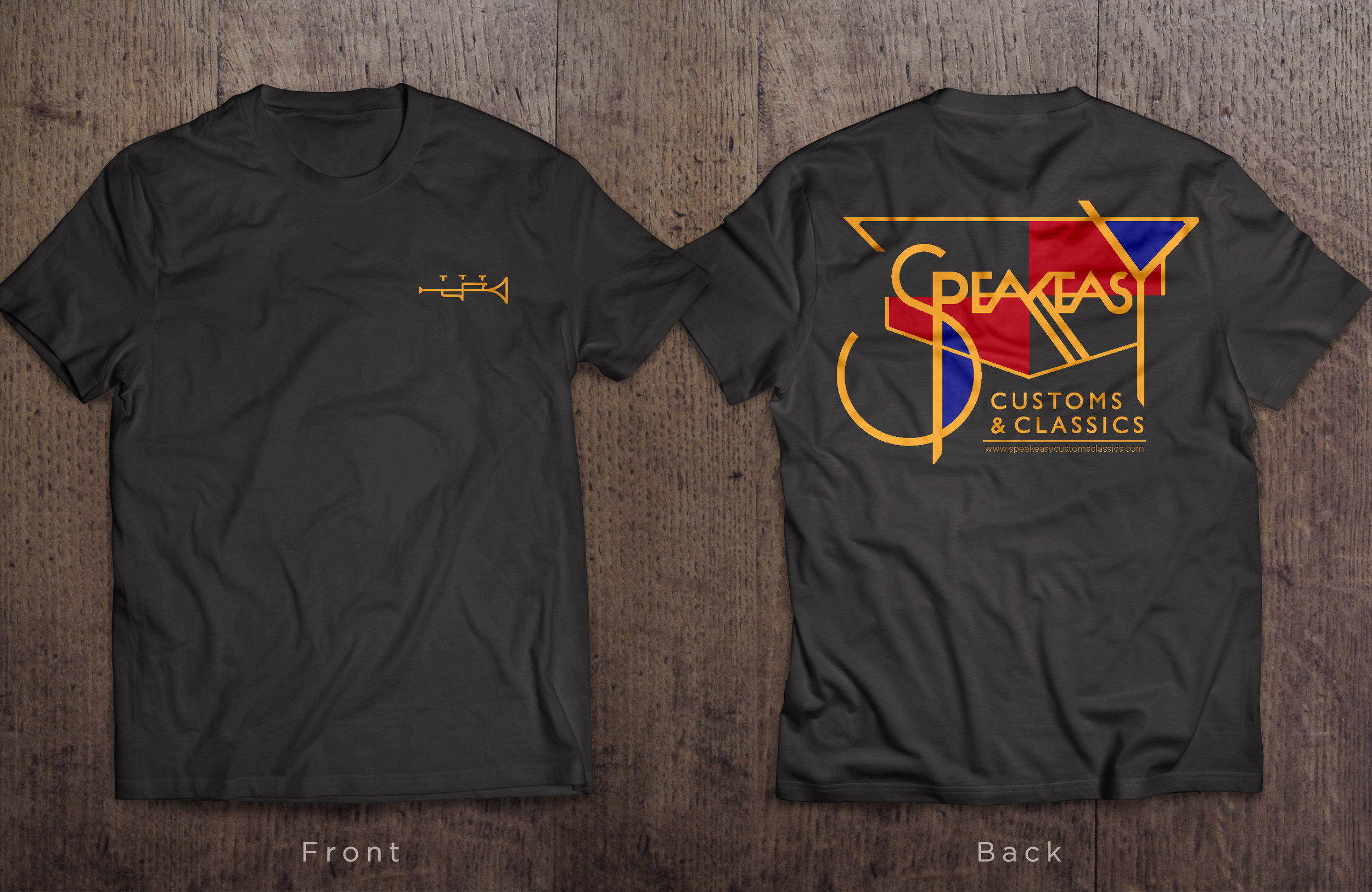 Here's one of the gifts, a speakeasy T-Shirt!