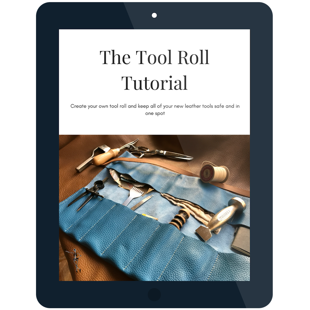 Tool roll tutorial bonus guide with mastering tradtional leatherworking basics