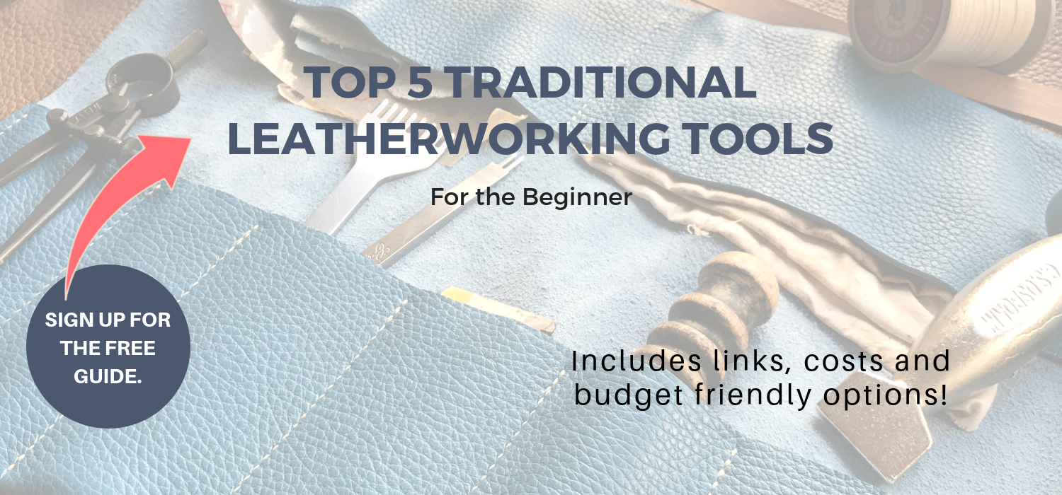 top 5 beginner leatherworking tools by leather beast.png