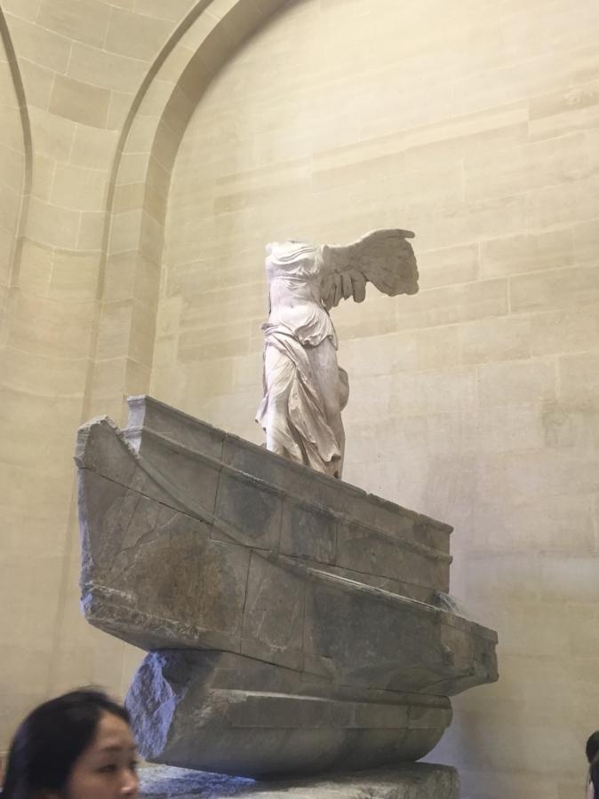 Winged Victory at Samothrace