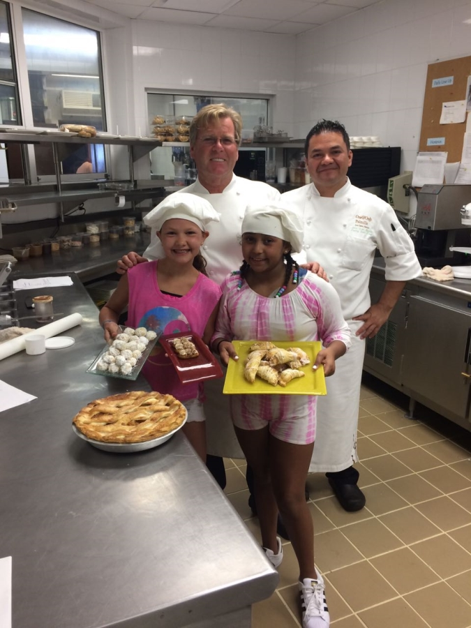Chef Steve Lindsey and the Pastry Crew