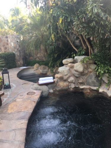 The One and Only Palmilla Ladies Spa Plunge Pool