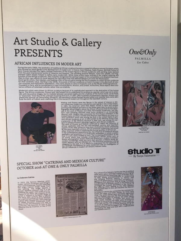 Art Studio Info at The One and Only Palmilla.JPG