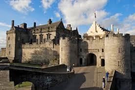 Front Entrance to Stirling Castle