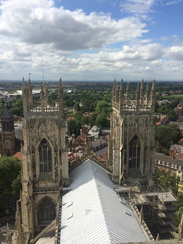 View of York Minster Towers