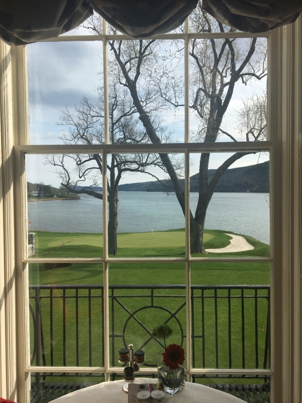 Breakfast View from the Otesaga
