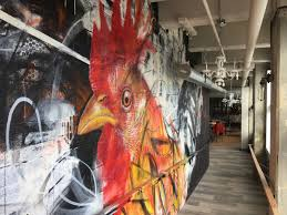 Rooster by Chuck Tingley at Roost