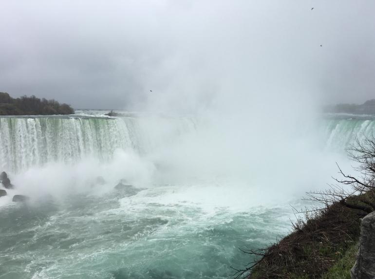 The Horseshoe Falls of Niagara Falls