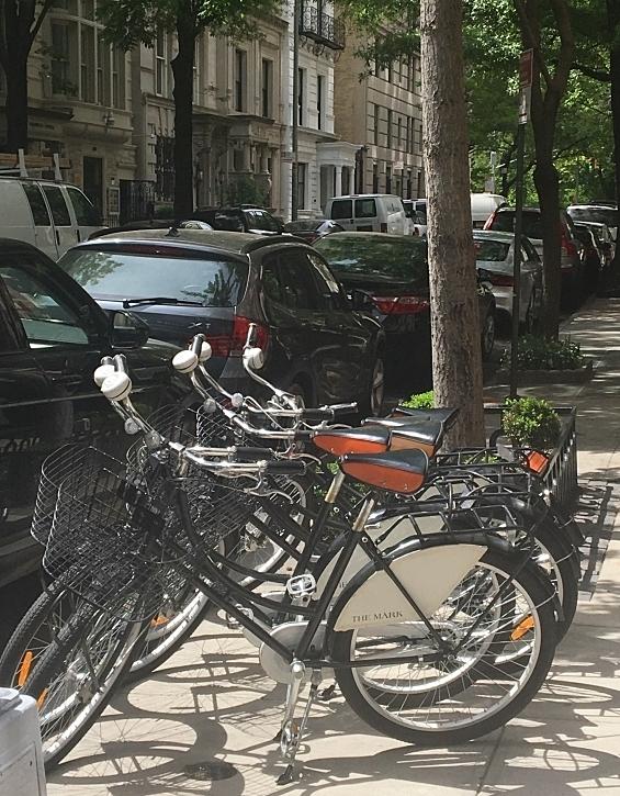 Bike a la The Mark