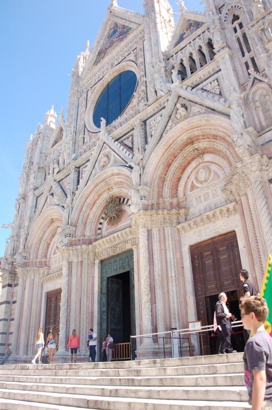 Facade of Cathedral of Seina