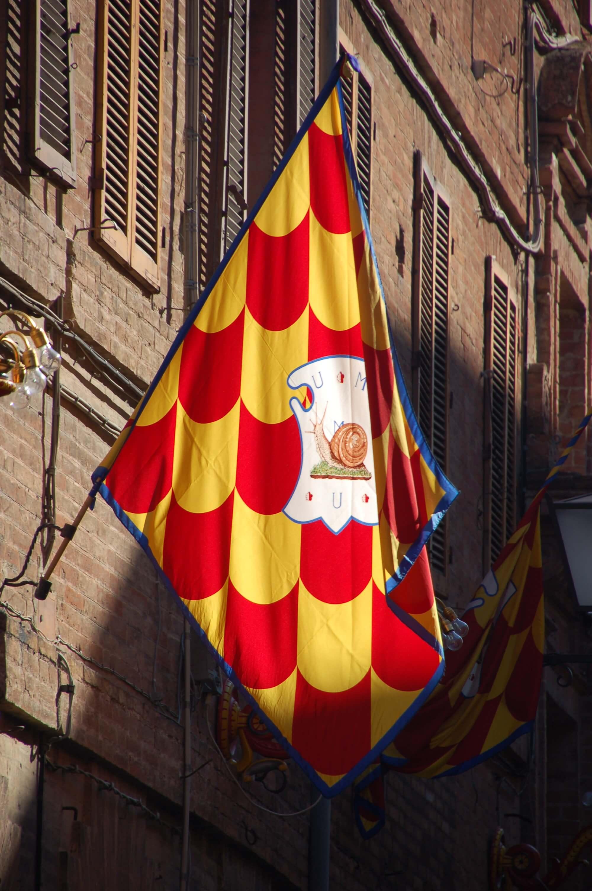 Snail Contrade Flag
