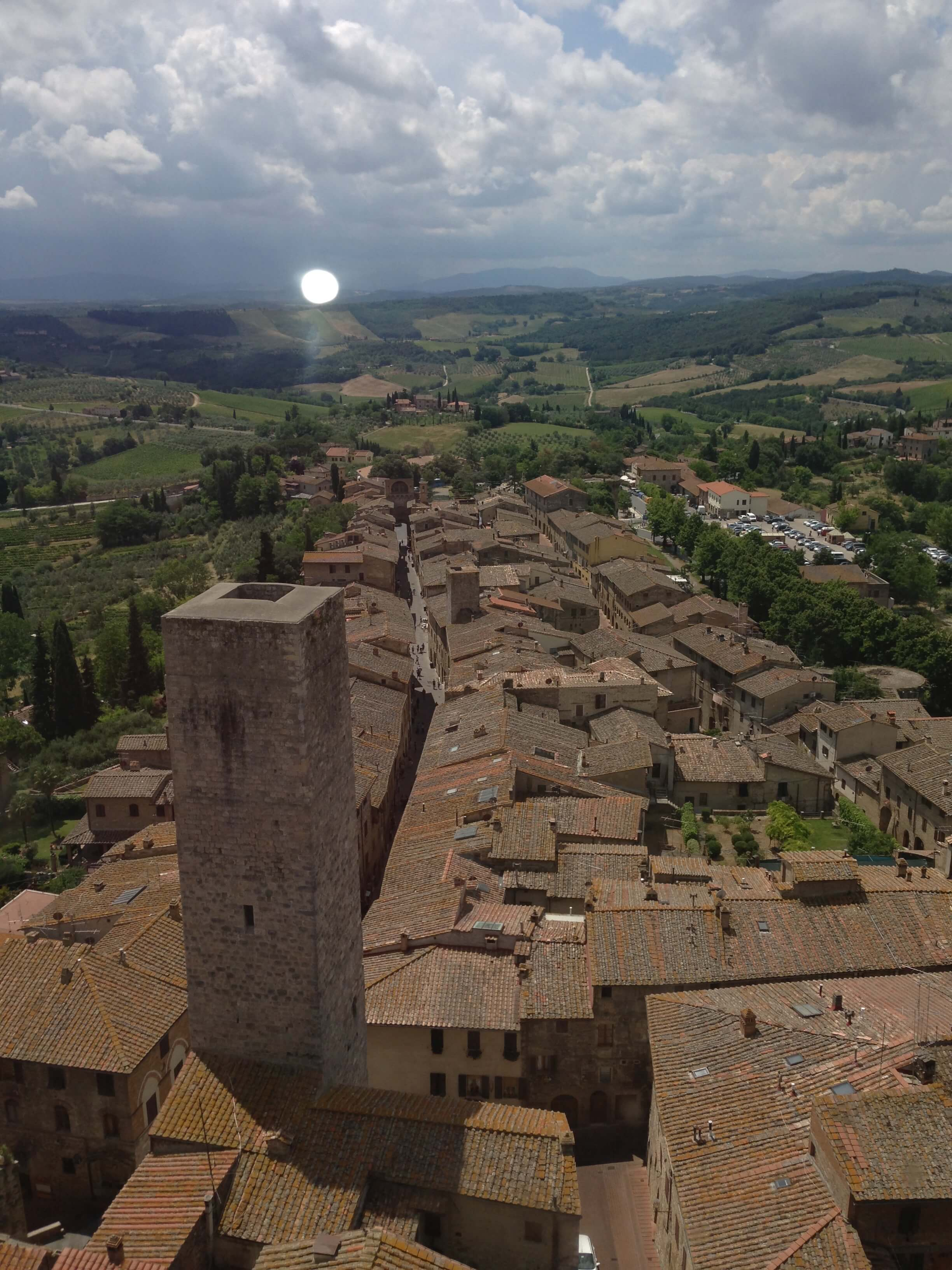 Town view from Torre Grossa