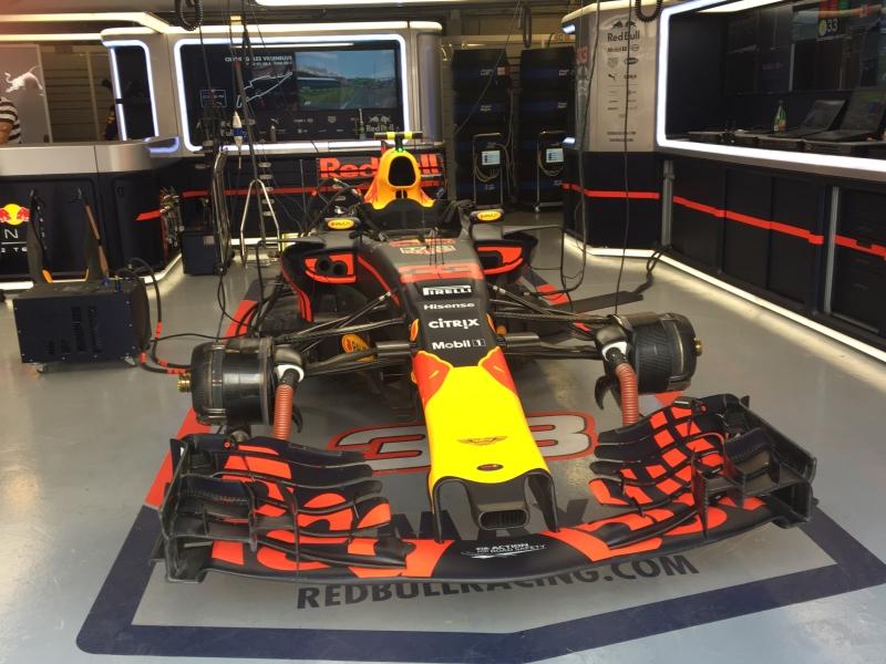 Red Bull Racing's Max Verstappen's Car