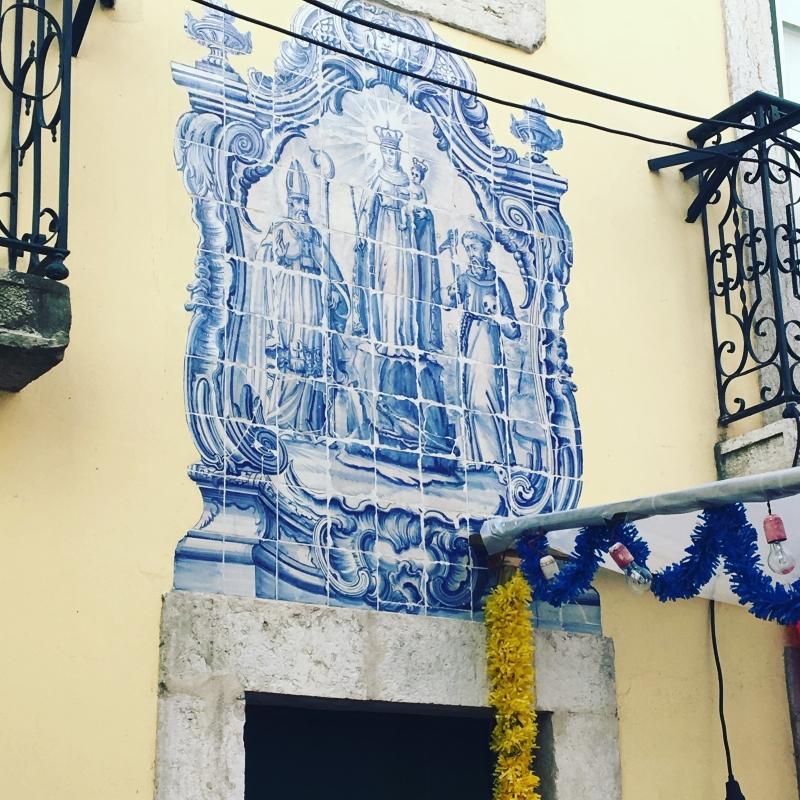 Azulejos in Alfama
