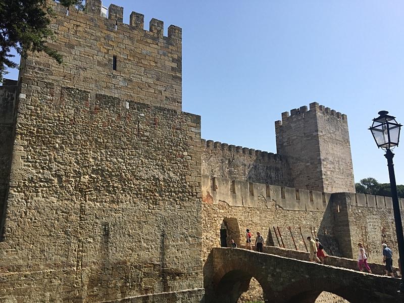 St. George Castle Entrance
