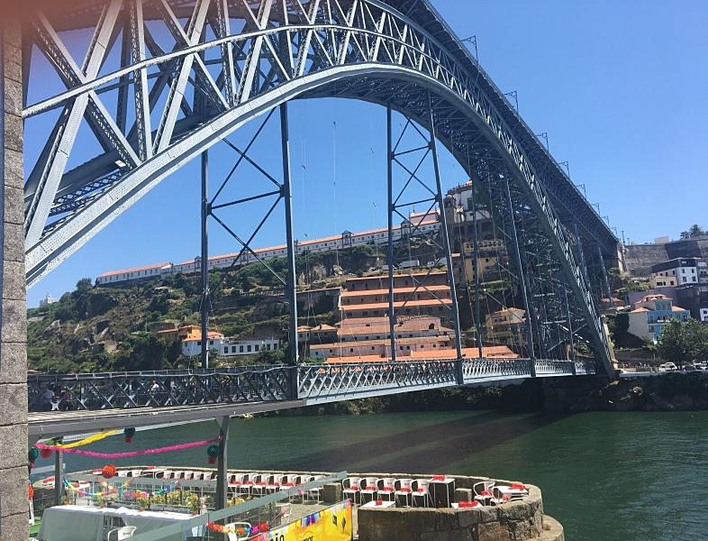 View of Bridge from Porto Street