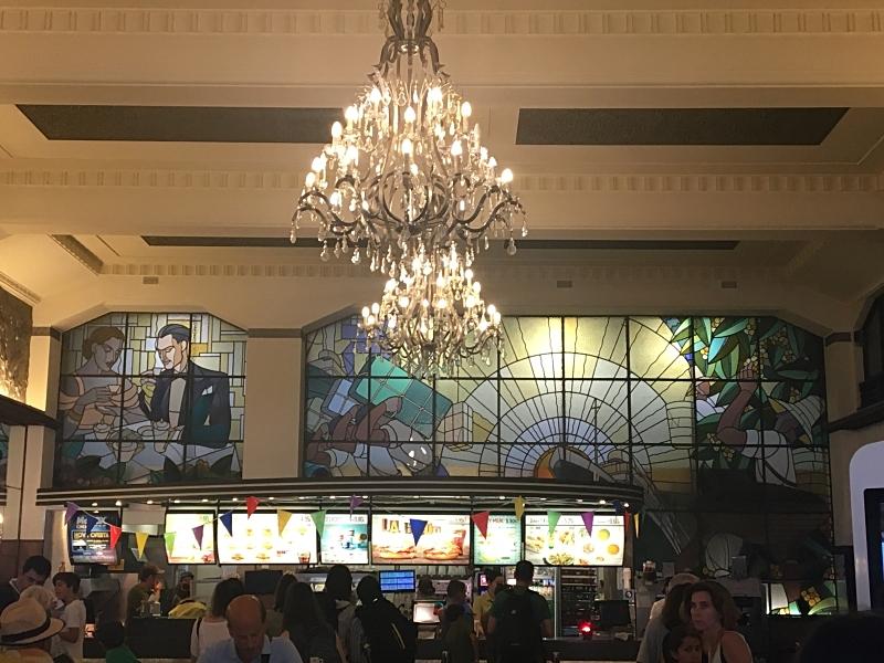 Art Deco Interior of McDonalds