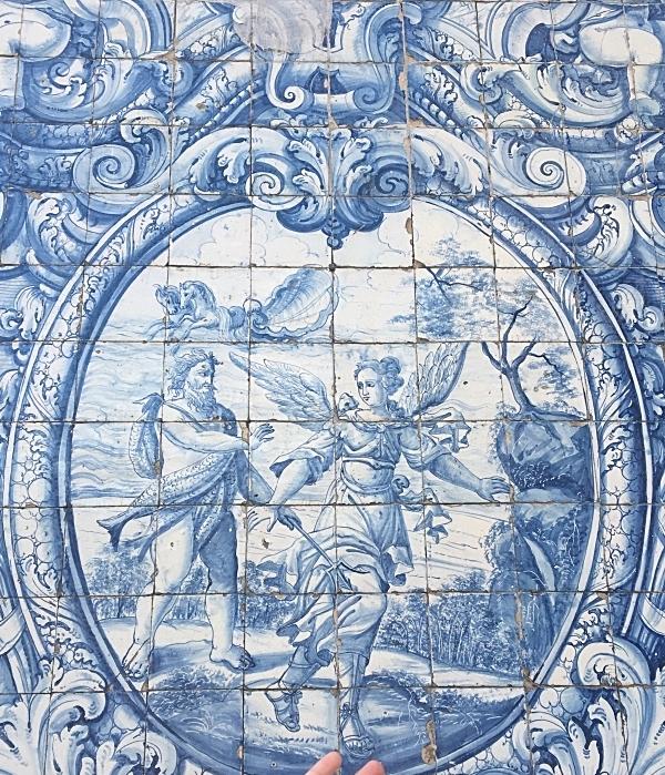 Second Floor Cloister Azulejos