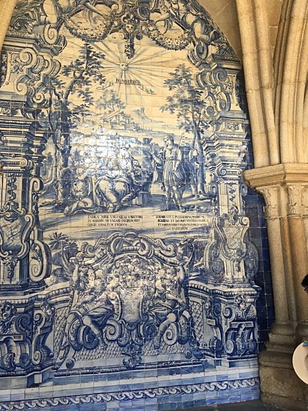 First Floor Cloister Azulejos