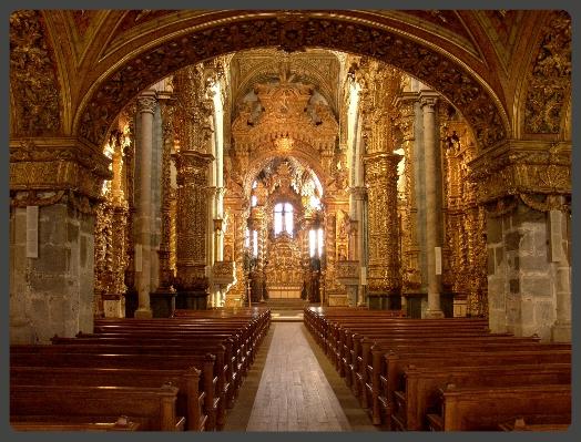 Interior of Church of Sao Francisco