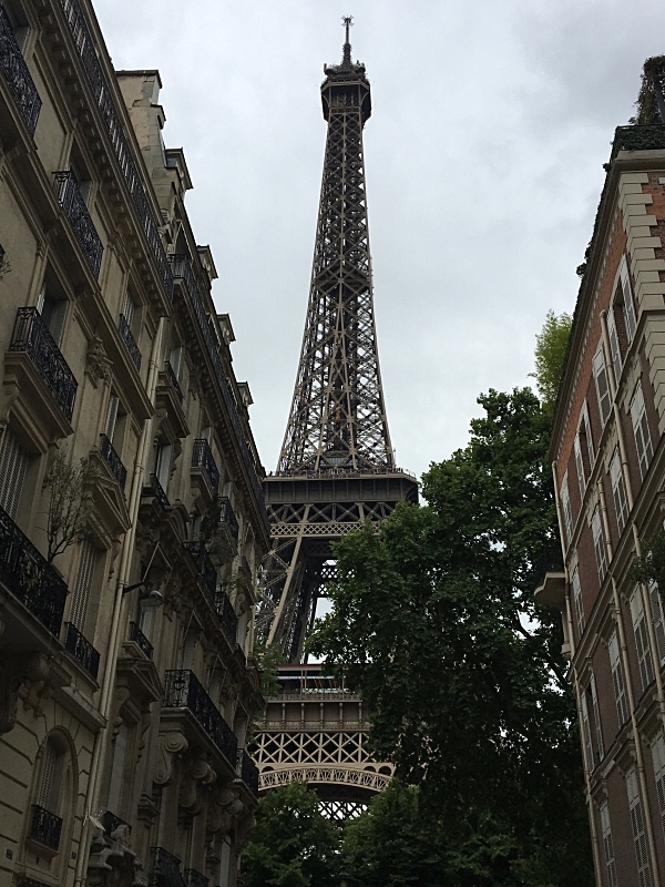 Street View of the Eiffel Tower