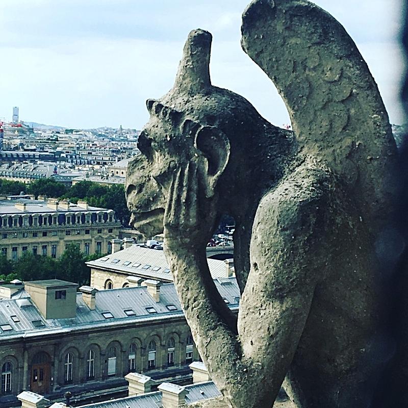 The Thinking Gargoyle