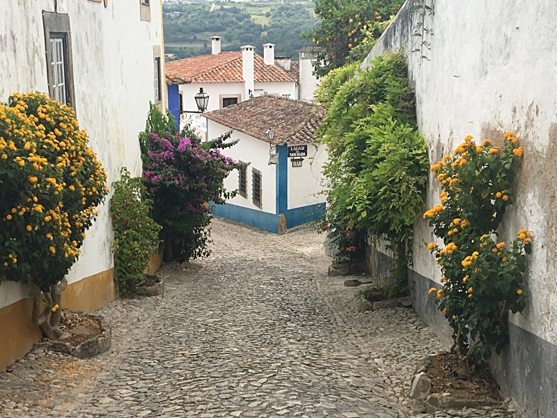 Obidos Back Alley.JPG
