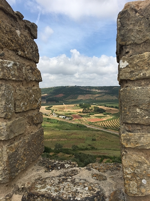 View of Countryside from the Wall
