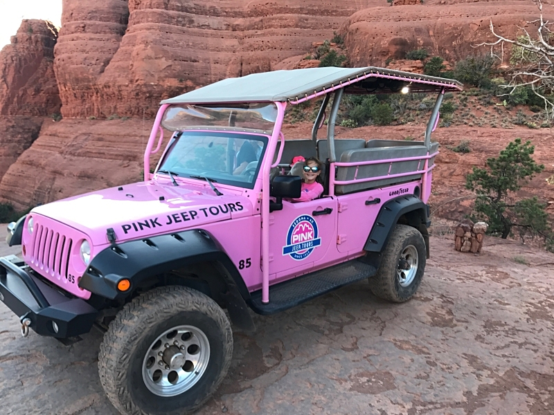 Our Pink Jeep