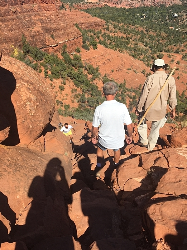 Trail Down Cathedral Rock
