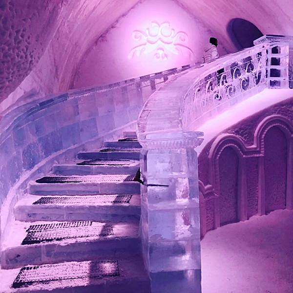 Ice Staircase
