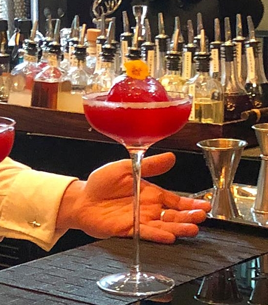 The Red Sparrow Specialty Drink