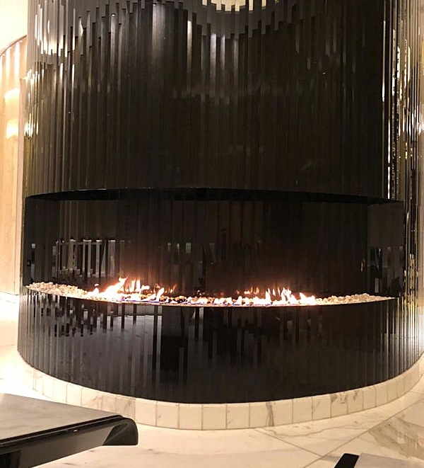 The Spa Fireplace