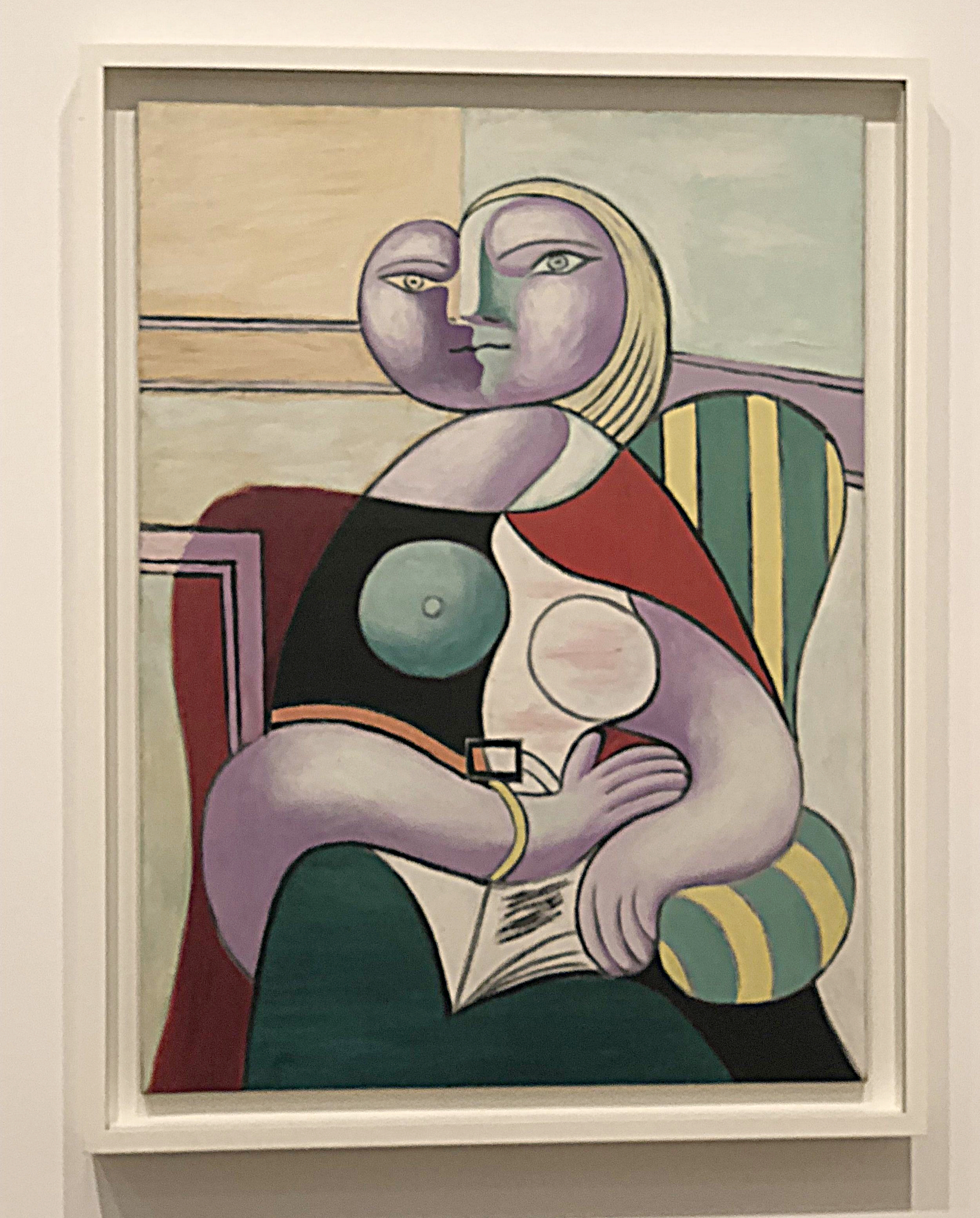 Pablo Picasso and Marie Therese